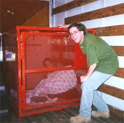 Caged Jason